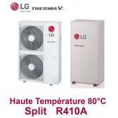 Pompe à Chaleur THERMA V Haute Température 80°C - HU161HA.U33 + HN1610H.NK3 - R410A