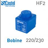 Bobine d'électrovanne HF2 -Code 9300/RA6 - Castel