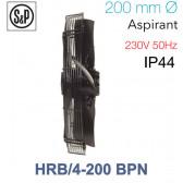 Ventilateur axial de roteur externe HRB/4-200 BPN de S&P