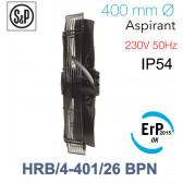 Ventilateur axial de roteur externe HRB/4-401/26 BPN de S&P