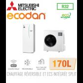 Ecodan duo 8 Eco Inverter réversible 170L ERST17D-VM2D + SUZ-SWM80VA