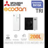 Ecodan duo 11 réversible 200L ERST20C-VM2D + PUHZ-SW100YAA