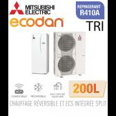 Ecodan duo 16 réversible 200L ERST20C-VM2D + PUHZ-SW120YHA