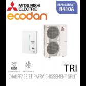 Ecodan 16 réversible ERSC-VM2D + PUHZ-SW120YHA