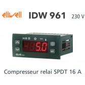 Controlador Eliwell IDW961 230 V com uma sonda