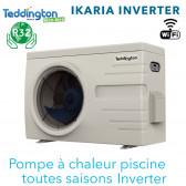 Pompe à chaleur piscine IKARIA Inverter 9 - 9 kW toutes saisons TEDDINGTON