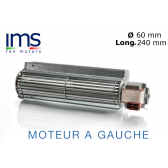 """Ventilador Tangentials de marca """"IMS"""", série TG6."""