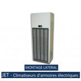 Climatiseur d'armoire électriques JET 20 C.AT0A  - MONTAGE LATERAL
