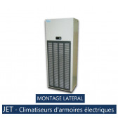 Climatiseur d'armoire électriques JET10 C.AMOA - MONTAGE LATERAL