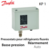 Pressostat simple automatique BP - 060-110166 - Danfoss