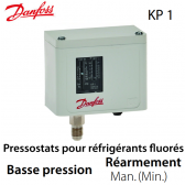 Pressostat simple manuel BP - 060-110366 - Danfoss