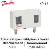 Pressostat double automatique/manuel - 060-126466 - Danfoss