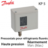 Pressostat simple manuel HP - 060-117366 - Danfoss