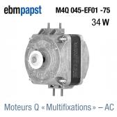 Moteur multi-fixation M4Q045-EF01-75 de EBM-PAPST