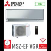 MURAL INVERTER DESIGN MITSUBISHI MSZ-EF25VGKS