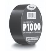Ruban noir pour isolation éléctrique en PVC 20 m X 19 mm X 0.13 mm epaisseur