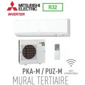 Mitsubishi MURAL TERTIAIRE modèle PKSZ-M100KAL monophasé