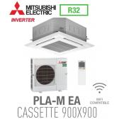 Mitsubishi CASSETTE 4 VOIES 900X900 modèle PLSZ-M125EA monophasé