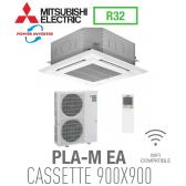 Mitsubishi CASSETTE 4 VOIES 900X900 modèle PLZ-ZM125EA monophasé