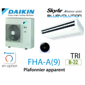 Daikin Plafonnier apparent Advance FHA100A triphasé