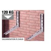 Support galvanisé à chaud pour unité exterieure jusqu'à 120 kg