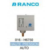 Pressostato automático simples HP Ranco