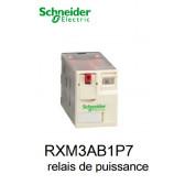 Relais de puissance miniature - Zelio - RXM3AB1P7