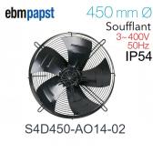 Ventilateur hélicoïde S4D450-AO14-02 de EBM-PAPST
