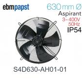 Ventilateur hélicoïde S4D630-AH01-01 de EBM-PAPST