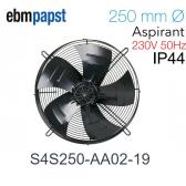 Ventilateur hélicoïde S4S250-AA02-19 de EBM-PAPST