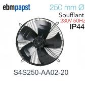Ventilateur hélicoïde S4S250-AA02-20 de EBM-PAPST