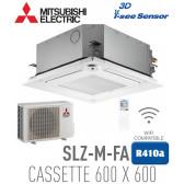 Cassette 4 voies 600x600 Mistubishi SLZ-M25FA
