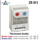 "Termostato duplo ZR 011 de marca ""Stego"""