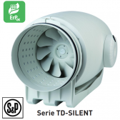 Ventilateur de conduit ultra-silencieux TD-SILENT - TD 800/200 SILENT 3V de S&P
