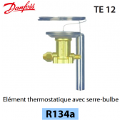 Elément thermostatique TEN 12 - 067B3232 - R134a Danfoss