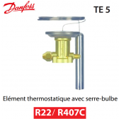 Elément thermostatique TEX 5 - 067B3250 - R22/R407C Danfoss