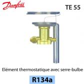 Elément thermostatique TEN 55 - 067G3222 - R134a Danfoss