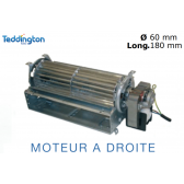 Ventilateur tangentiel VT 18 F3D de Teddington