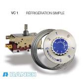Termostato Ranco Tipo VC1