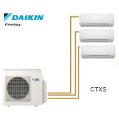Daikin inverter Trisplit reversível 3MXS40K + 3 CTXS15K