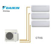 Daikin Trisplit inverter reversible 4MXS68F + 2 CTXS15K + 1 CTXS25K