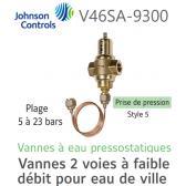 Vanne à eau pressostatique V46SA-9300 Johnson Controls