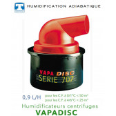 Humidificateur centrifuge 0,9 L/H -  VAPADISC 707 de Teddington