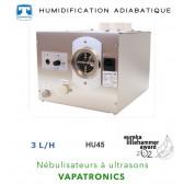 Nébulisateur à ultrasons VAPATRONICS - 3 L/H - VAPATRONICS  HU45 de Teddington