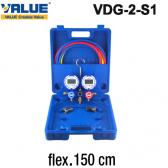 Coffret manomètre digital VDG-2-S1