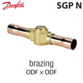 """Voyant de liquide SGP 10s N -  014L0182 Danfoss - Raccordement 3/8"""" à brasser"""