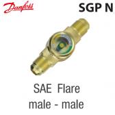 """Voyant de liquide SGP 16 N -  014L0165 Danfoss - Raccordement 5/8"""" à visser M X M"""