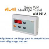 Régulateur un étage pour la température, avec dégivrage naturel WM961/A