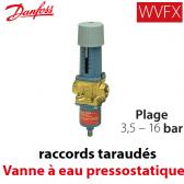 Válvula de água pressostáticas WVFX 15 Danfoss - 3,5-16 Barras