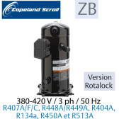 Compresseur COPELAND hermétique SCROLL ZB15 KCE-TFD-551